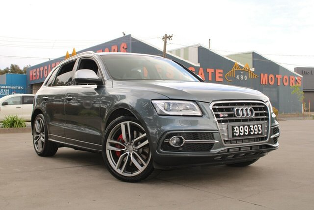 Used Audi SQ5 8R MY15 3.0 TDI Quattro West Footscray, 2014 Audi SQ5 8R MY15 3.0 TDI Quattro Grey 8 Speed Automatic Wagon