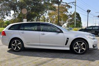 2016 Holden Commodore VF II MY16 SV6 Sportwagon Black Silver, Chrome 6 Speed Sports Automatic Wagon.
