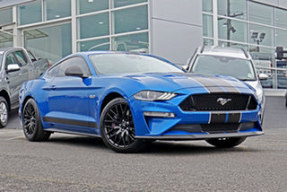 2019 Ford Mustang FN 2019MY GT Blue 10 Speed Sports Automatic Fastback.