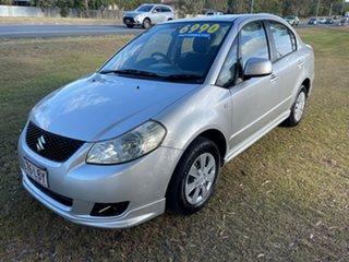 2008 Suzuki SX4 GYC Silver 4 Speed Automatic Sedan.