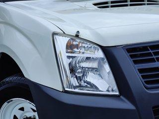 2008 Holden Rodeo RA MY08 LX Crew Cab 4x2 Alpine White 5 Speed Manual Utility.