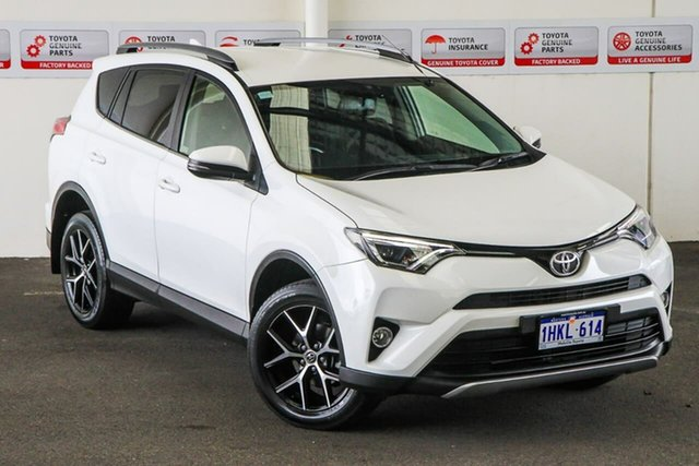 Pre-Owned Toyota RAV4 ZSA42R MY17 GXL (2WD) Myaree, 2016 Toyota RAV4 ZSA42R MY17 GXL (2WD) Glacier White Continuous Variable Wagon