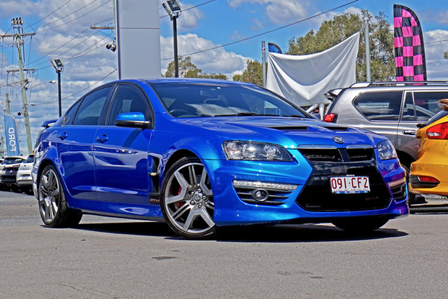 Used Holden Special Vehicles GTS E Series 3 Springwood, 2011 Holden Special Vehicles GTS E Series 3 Blue 6 Speed Manual Sedan