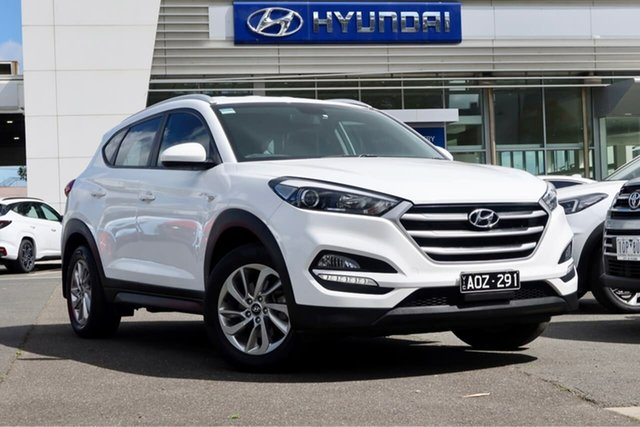 Used Hyundai Tucson TLe MY17 Active 2WD South Melbourne, 2017 Hyundai Tucson TLe MY17 Active 2WD White 6 Speed Sports Automatic Wagon