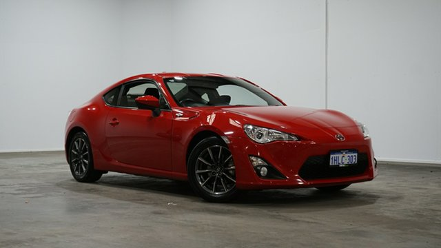Used Toyota 86 ZN6 GT Welshpool, 2016 Toyota 86 ZN6 GT Red 6 Speed Sports Automatic Coupe