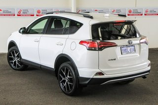 2016 Toyota RAV4 ZSA42R MY17 GXL (2WD) Glacier White Continuous Variable Wagon.