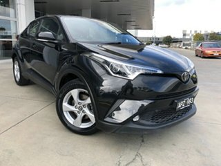 2017 Toyota C-HR NGX10R S-CVT 2WD Black 7 Speed Constant Variable Wagon.