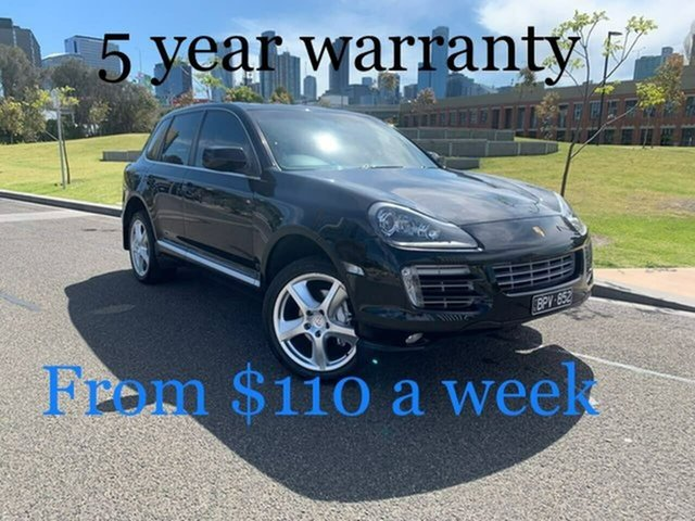 Used Porsche Cayenne 9PA MY10 Diesel South Melbourne, 2009 Porsche Cayenne 9PA MY10 Diesel Black 6 Speed Sports Automatic Wagon