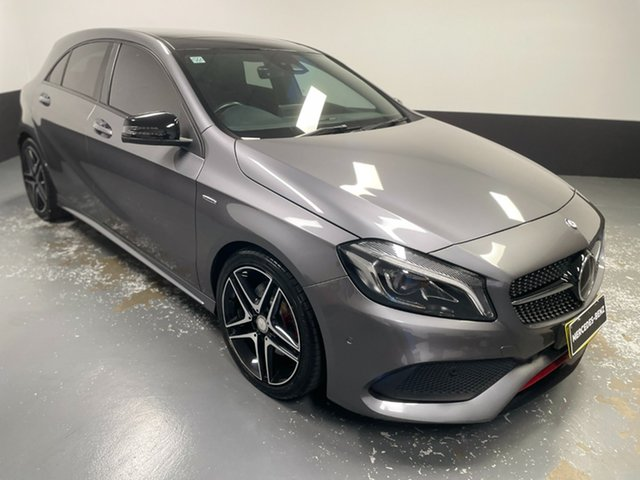 Used Mercedes-Benz A-Class W176 806MY A250 D-CT 4MATIC Sport Newcastle West, 2016 Mercedes-Benz A-Class W176 806MY A250 D-CT 4MATIC Sport Mountain Grey 7 Speed
