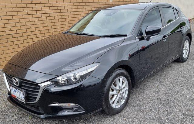 Used Mazda 3 BN5478 Touring SKYACTIV-Drive Horsham, 2017 Mazda 3 BN5478 Touring SKYACTIV-Drive Black 6 Speed Sports Automatic Hatchback