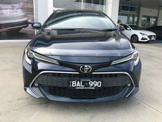 2019 Toyota Corolla Mzea12R ZR Peacok Black 10 Speed Constant Variable Hatchback.