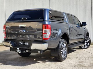 2021 Ford Ranger PX MkIII 2021.25MY XLT Grey 6 Speed Sports Automatic Double Cab Pick Up