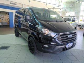 2019 Ford Transit Custom VN 2019.75MY 340S (Low Roof) Agate Black Metallic 6 Speed Automatic Van