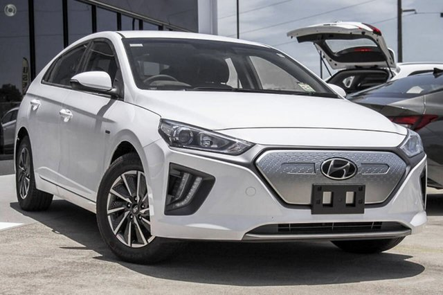 New Hyundai Ioniq AE.V4 MY22 electric Elite Oakleigh, 2021 Hyundai Ioniq AE.V4 MY22 electric Elite White 1 Speed Reduction Gear Fastback
