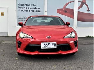 2020 Toyota 86 ZN6 GT Ignition Red 6 Speed Manual Coupe.