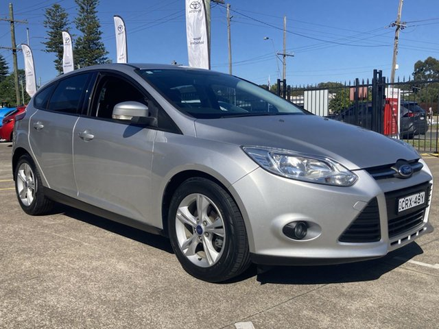 Pre-Owned Ford Focus LW MkII Trend Cardiff, 2014 Ford Focus LW MkII Trend Silver 5 Speed Manual Hatchback