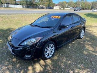 2009 Mazda 3 BL10L1 SP25 Activematic Black 5 Speed Sports Automatic Sedan.