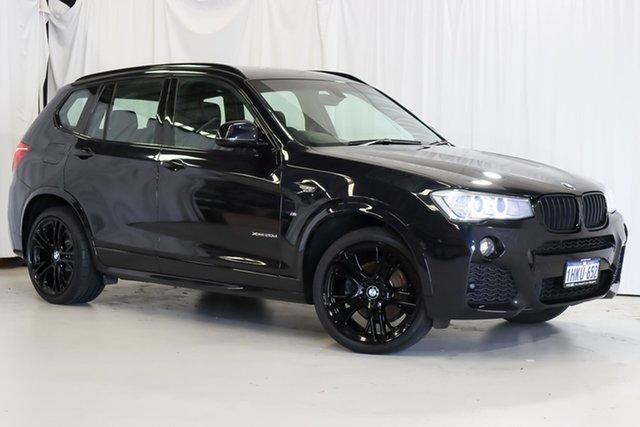 Used BMW X3 F25 LCI xDrive20d Steptronic Wangara, 2015 BMW X3 F25 LCI xDrive20d Steptronic Black 8 Speed Automatic Wagon