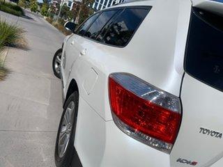 2013 Toyota Kluger GSU40R MY12 KX-S 2WD White 5 Speed Sports Automatic Wagon