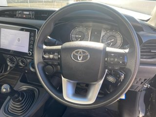 2020 Toyota Hilux TGN121R Workmate 4x2 Black 5 Speed Manual Cab Chassis