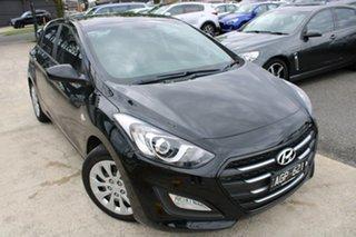 2016 Hyundai i30 GD4 Series II MY17 Active Black 6 Speed Manual Hatchback.
