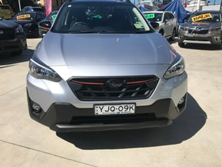 2021 Subaru XV G5X MY21 2.0i-L Lineartronic AWD Ice Silver 7 Speed Constant Variable Wagon.