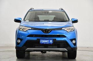 2018 Toyota RAV4 ASA44R Cruiser AWD Blue Gem 6 Speed Sports Automatic Wagon.