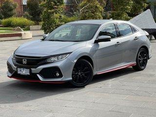 2017 Honda Civic 10th Gen MY17 VTi-S Silver 1 Speed Constant Variable Sedan.