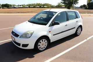 2006 Ford Fiesta WQ LX White 5 Speed Manual Hatchback