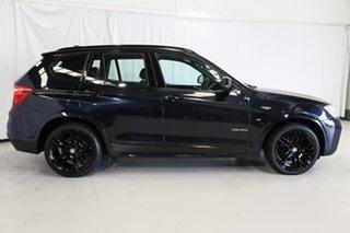 2015 BMW X3 F25 LCI xDrive20d Steptronic Black 8 Speed Automatic Wagon.