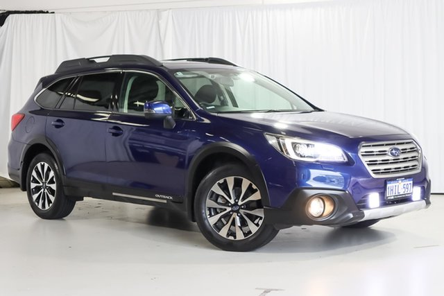 Used Subaru Outback B6A MY15 2.5i CVT AWD Premium Wangara, 2015 Subaru Outback B6A MY15 2.5i CVT AWD Premium Blue 6 Speed Constant Variable Wagon