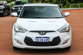 2012 Hyundai Veloster FS + Coupe White 6 Speed Manual Hatchback