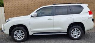 2011 Toyota Landcruiser Prado KDJ150R VX White 5 Speed Sports Automatic Wagon.