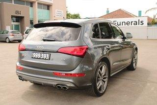 2014 Audi SQ5 8R MY15 3.0 TDI Quattro Grey 8 Speed Automatic Wagon