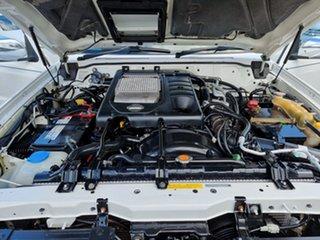 2007 Nissan Patrol GU 6 MY08 ST White 5 Speed Manual Wagon