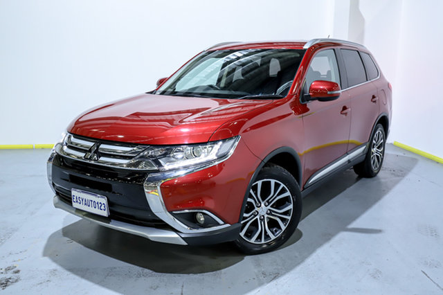 Used Mitsubishi Outlander ZK MY16 LS 2WD Canning Vale, 2016 Mitsubishi Outlander ZK MY16 LS 2WD Red 6 Speed Constant Variable Wagon
