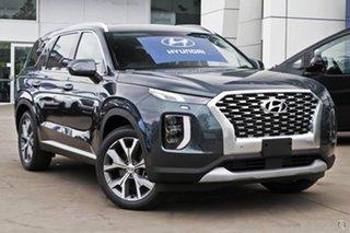 2021 Hyundai Palisade LX2.V2 MY22 Elite 2WD Green 8 Speed Sports Automatic Wagon.