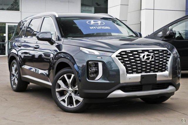 New Hyundai Palisade LX2.V2 MY22 Elite 2WD Oakleigh, 2021 Hyundai Palisade LX2.V2 MY22 Elite 2WD Green 8 Speed Sports Automatic Wagon