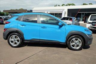 2021 Hyundai Kona Os.v4 MY21 Active 2WD Blue 8 Speed Constant Variable Wagon