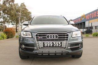 2014 Audi SQ5 8R MY15 3.0 TDI Quattro Grey 8 Speed Automatic Wagon.