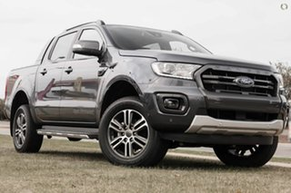 2021 Ford Ranger PX MkIII 2021.75MY Wildtrak Grey 6 Speed Sports Automatic Double Cab Pick Up.