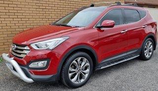 2013 Hyundai Santa Fe DM MY13 Highlander Red 6 Speed Sports Automatic Wagon.