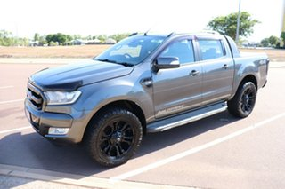 2017 Ford Ranger PX MkII 2018.00MY Wildtrak Double Cab Grey 6 Speed Automatic Dual Cab Pick-up