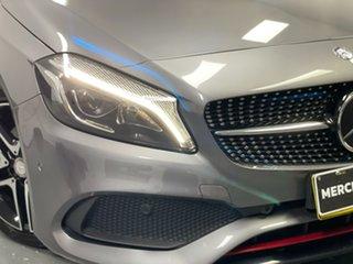 2016 Mercedes-Benz A-Class W176 806MY A250 D-CT 4MATIC Sport Mountain Grey 7 Speed.