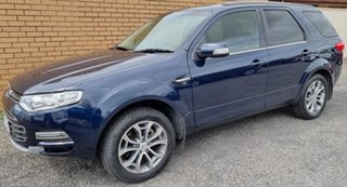 2013 Ford Territory SZ Titanium Seq Sport Shift Blue 6 Speed Sports Automatic Wagon.