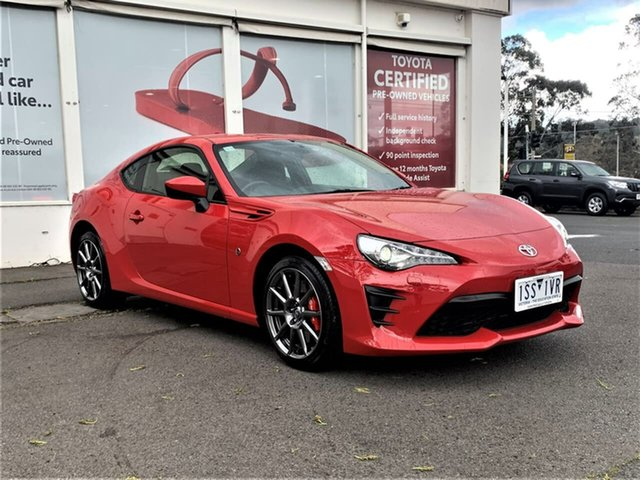 Pre-Owned Toyota 86 ZN6 GT Ferntree Gully, 2020 Toyota 86 ZN6 GT Ignition Red 6 Speed Manual Coupe