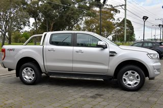 2018 Ford Ranger PX MkII 2018.00MY XLT Double Cab Silver, Chrome 6 Speed Sports Automatic Utility.