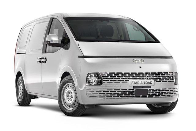 New Hyundai Staria-Load US4.V1 MY22 Geelong, 2021 Hyundai IMAX/STARIA US4.V1 MY22 Shimmering Silver 8 Speed Automatic Van