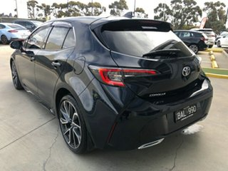 2019 Toyota Corolla Mzea12R ZR Peacok Black 10 Speed Constant Variable Hatchback