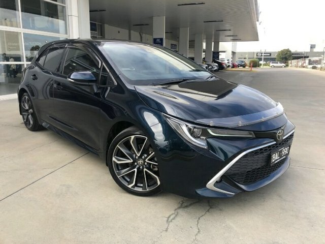 Used Toyota Corolla Mzea12R ZR Ravenhall, 2019 Toyota Corolla Mzea12R ZR Peacok Black 10 Speed Constant Variable Hatchback
